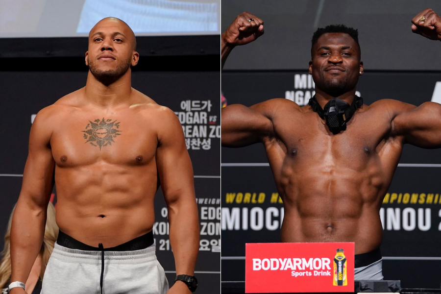 Ciryl Gane wants to fight Francis Ngannou in Paris by the end of the year - gane