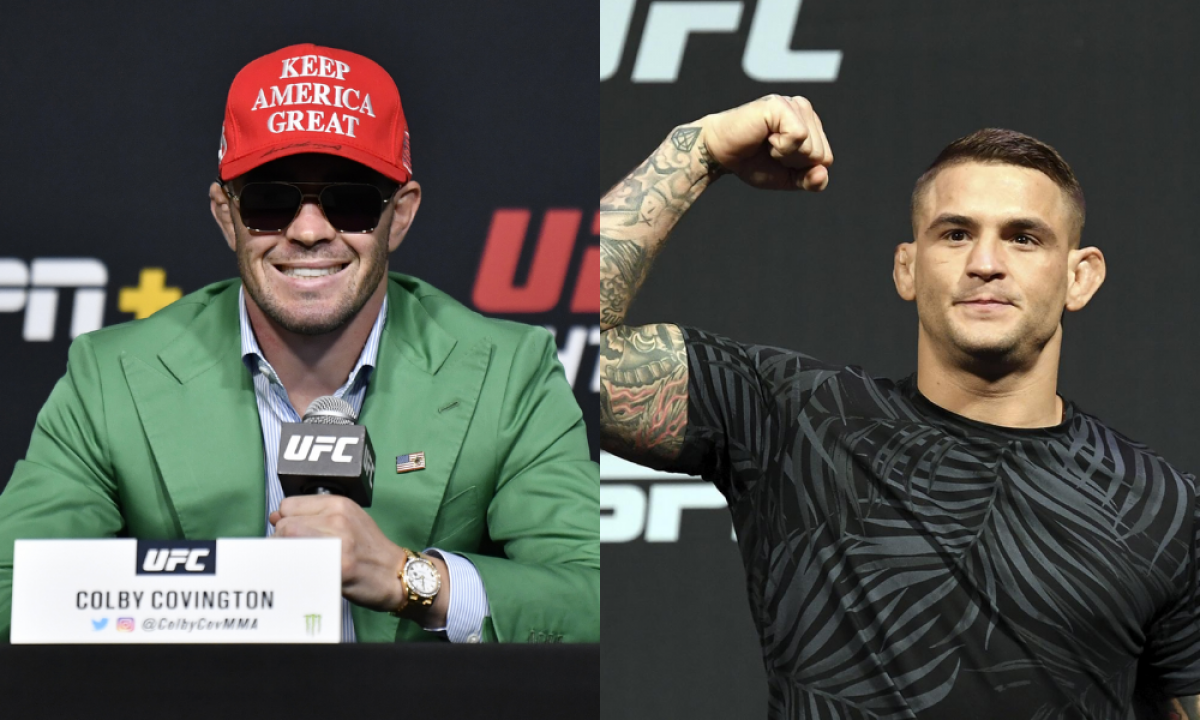 Colby Covington says he would verbally submit Dustin Poirier in a Fight - covington
