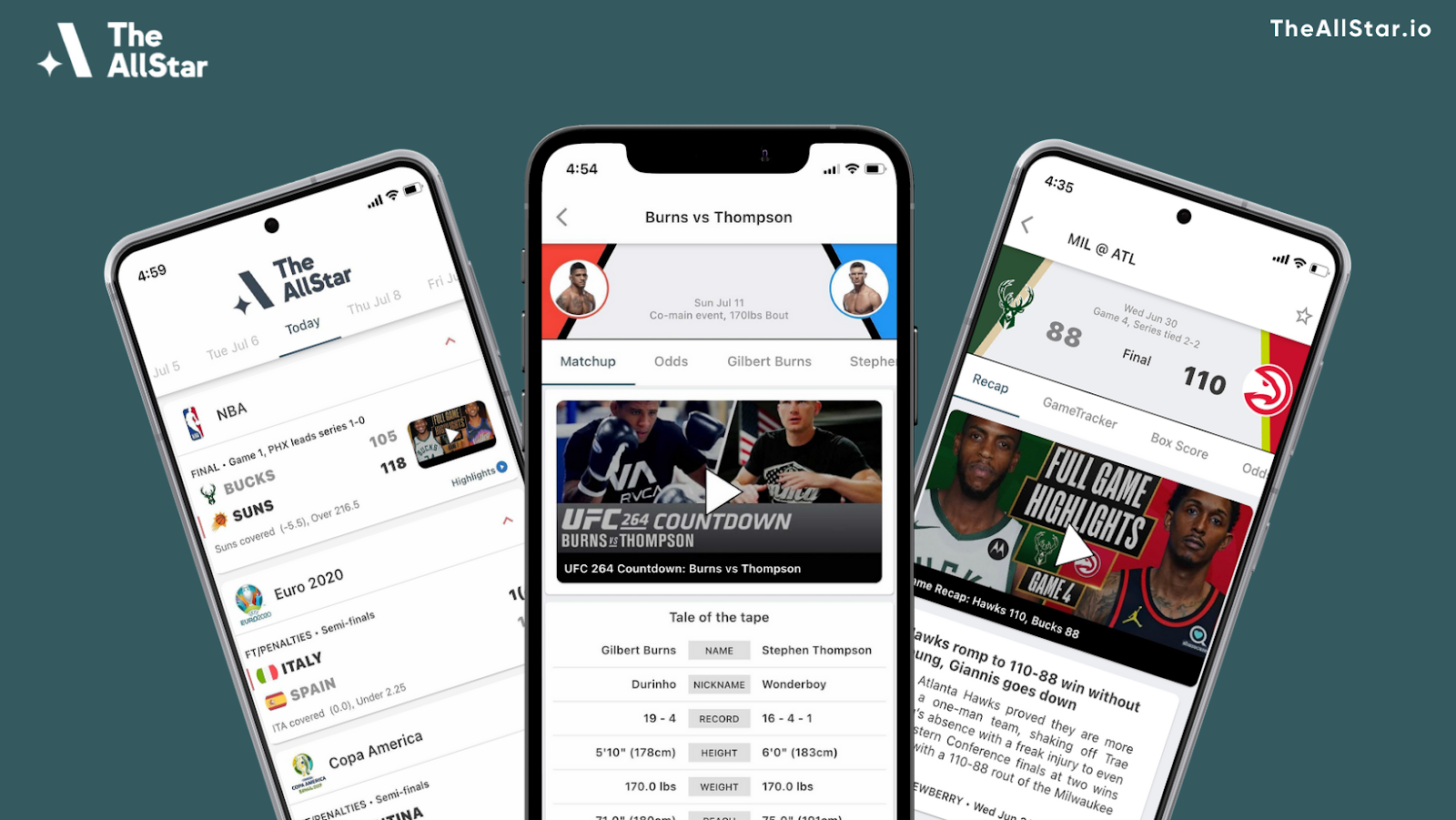 MMA Fans: Never Miss a Fight With The AllStar Sports App - AllStar