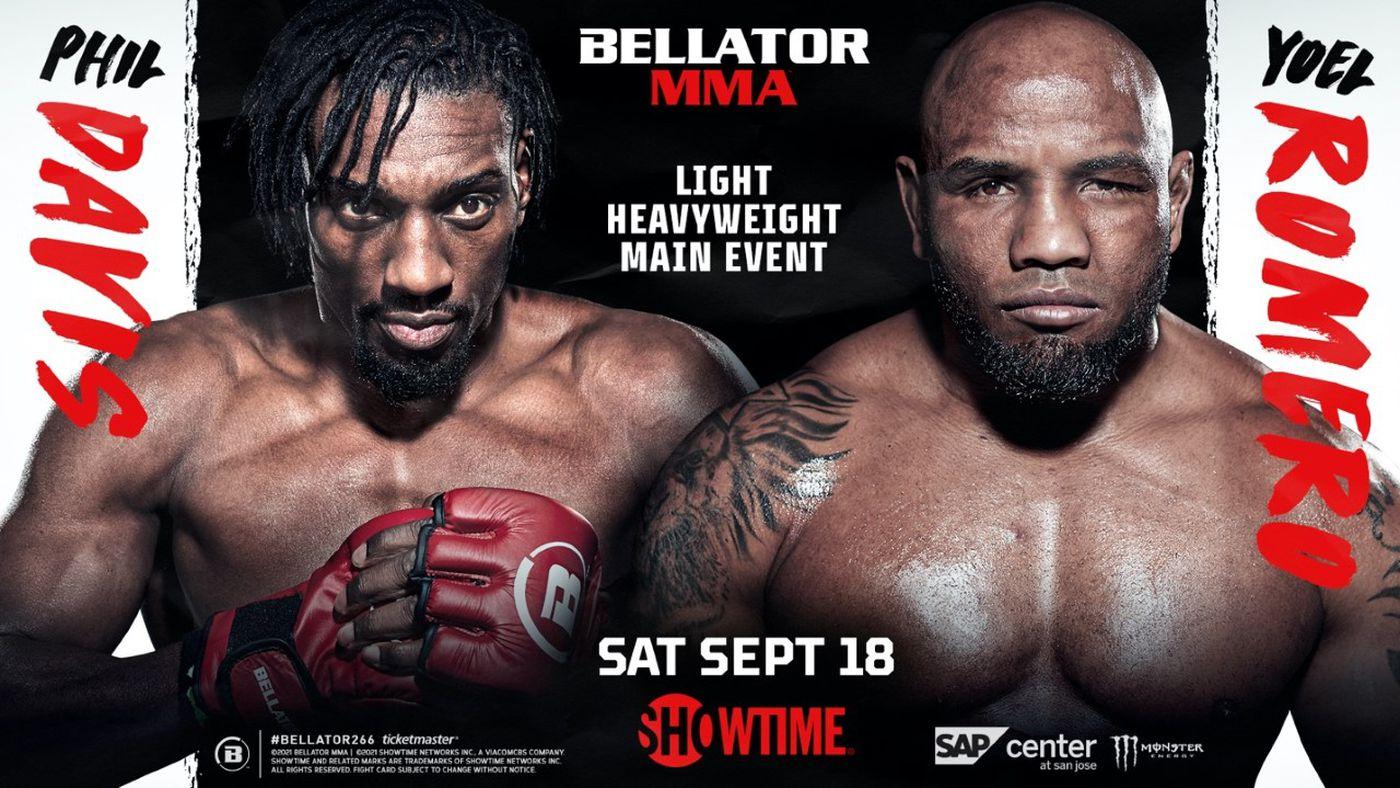 Yoel Romero vs. Phil Davis Fight set for Bellator 266 on September 18 - romero