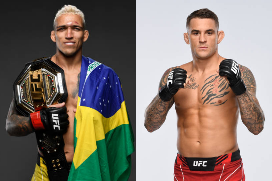 Dustin Poirier vs Charles Oliveira fight set for UFC 269 - oliveira