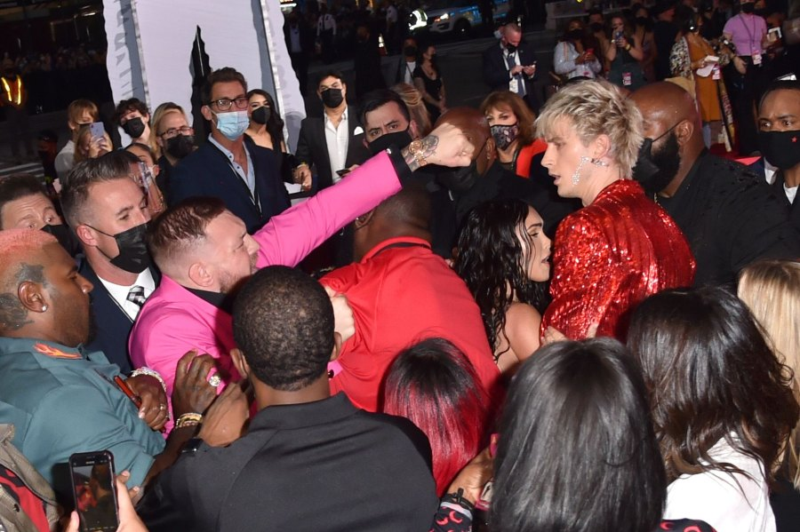 Conor McGregor gets into an altercation with Machine Gun Kelly at the MTV Video Music Awards - mcgregor