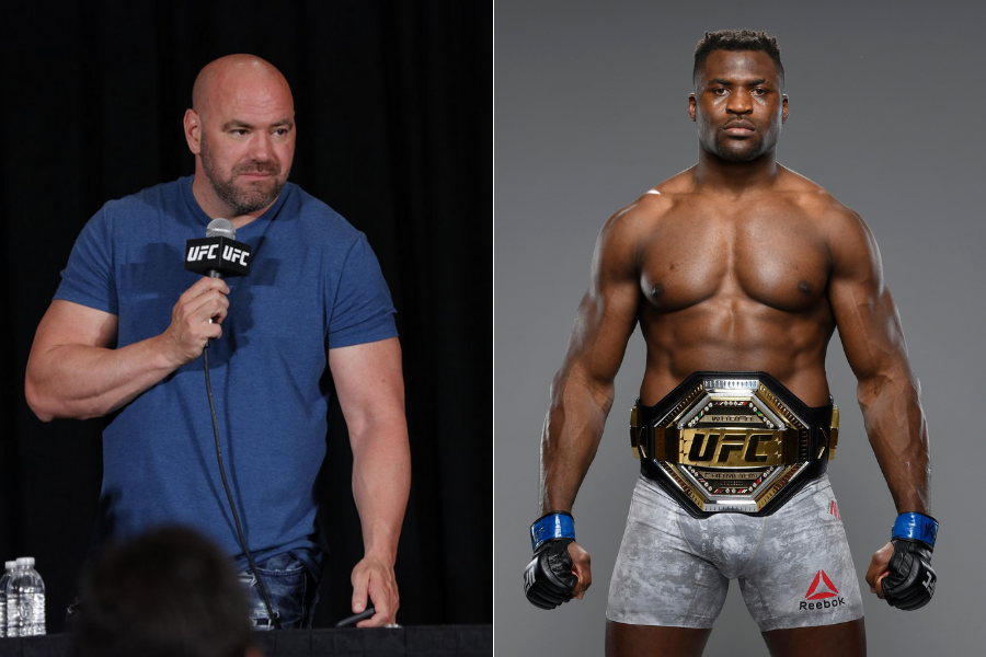 Dana White on Francis Ngannou: 'Francis is getting advice from people who aren't very f*****g bright' - ngannou