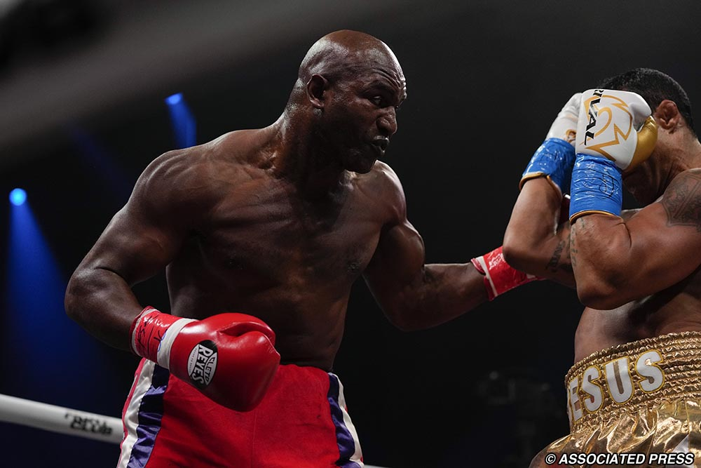 Evander Holyfield reacts to his loss against Vitor Belfort: 'I think it was a bad call' - holyfield