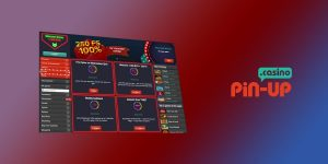 How to play in Pin Up Casino - Casino