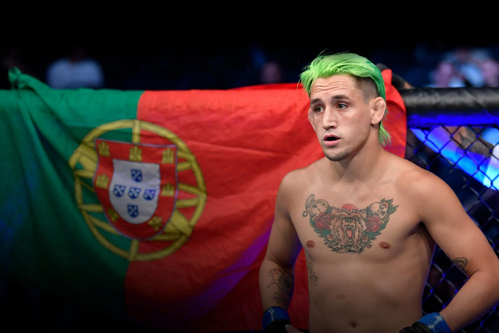 Kris Moutinho wants to prove a point in his next fight: 'I'm not just a punching bag' - moutinho