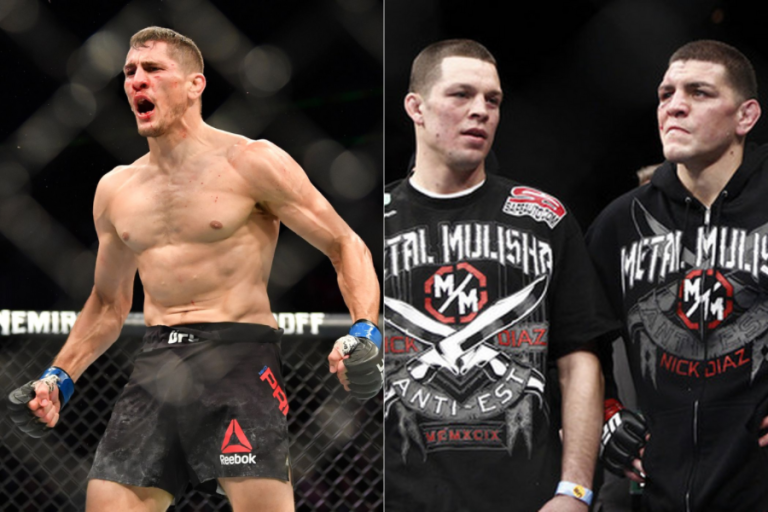 Niko Price calls for a fight against Nick or Nate Diaz after getting a win at UFC Vegas 38